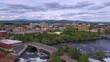 Spokane, Drone View, Washington, Downtown, Spokane River