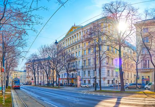Canvas The luxury hotel in Ringstrasse, Vienna, Austria