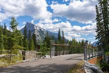 Banff Legacy Trail. Banff National Park, Canadian Rockies, Alberta, Canada.