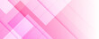 Abstract pink white geometric vector banner background with 3d layers. Light Pink vector background with wry lines. Gradient illustration in simple style with bows. Pattern for business booklets