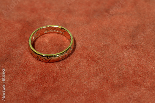 Cuadros en Lienzo One Ring from lord of the rings