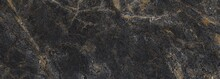 Black And Gold Marble Stone Texture