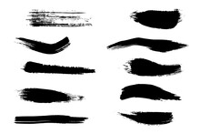 A Hand-picked Collection Of Brush Strokes For Your Projects