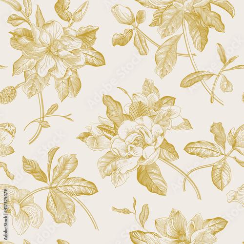 Valokuvatapetti Magnolia grandiflora