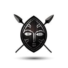 Vector African Shield Creative Logo