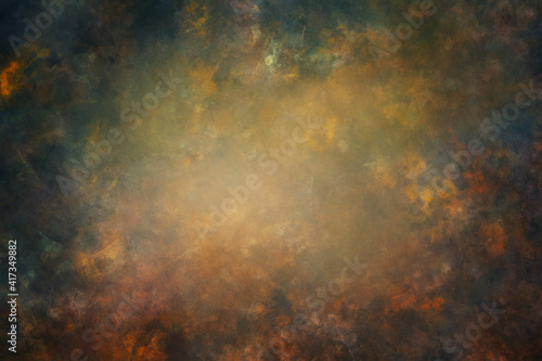 Fotografia Fine art texture. Old abstract oil painted background.