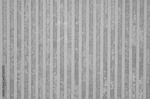 Canvas dark graphite facade wall stoneware tile with abstract stained texture and strip