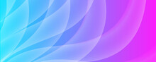 Modern Futuristic Green Pink Gradient Background With Wave Shape. Pink Blue White Yellow Gradient Liquid Wave Abstract Background