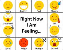 Feeling Chart Worksheet. Clipart Image