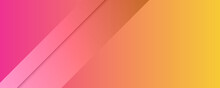 Abstract Background With Orange Pink Yellow Color. Abstract Soft Pink Orange Pastel Color Background. Horizontal Vertical Abstract Color Background With Wavy Blurred Shapes. Wallpaper Template