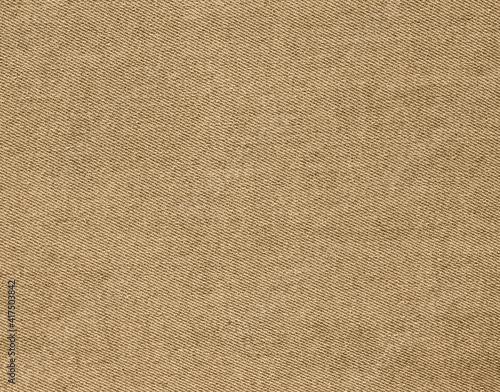Tablou Canvas khaki fabric texture, denim jeans