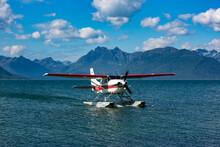 Lake Clark National Park And Preserve, Cook Inlet, Kenai Peninsula, Alaska, Floatplane, Mount Iliamna Volcano