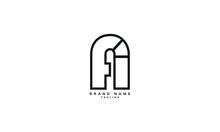 AFI, FI, FAI, Abstract Initial Monogram Letter Alphabet Logo Design