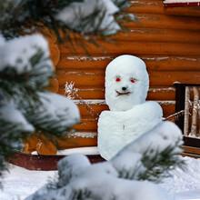 Tired Snowman