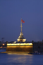 Naryshkin Bastion At Peter And Paul Fortress In Saint Petersburg. Russia