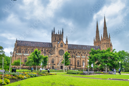 St Mary Cathedral in Sydney, Australia © jovannig