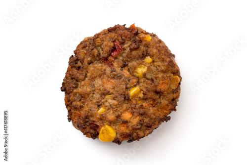 Gemüse-Rindfleisch-Frikadelle © womue