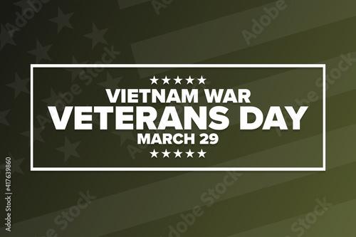 Fotografie, Obraz National Vietnam War Veterans Day