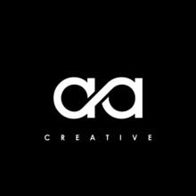 AA Letter Initial Logo Design Template Vector Illustration