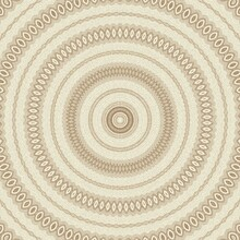 Contemporary Abstract Pattern Design For Background, Scarf Pattern Texture For Print On Cloth, Cover Photo, Website, Mandala Kaleidoscope, Retro, Vintage, Illustration, Baroque, Trendy Wallpaper