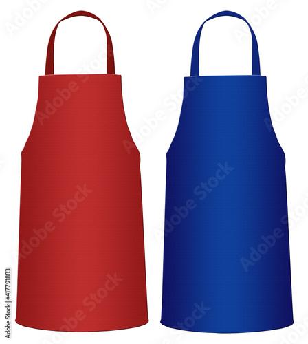 Canvas Print kitchen apron