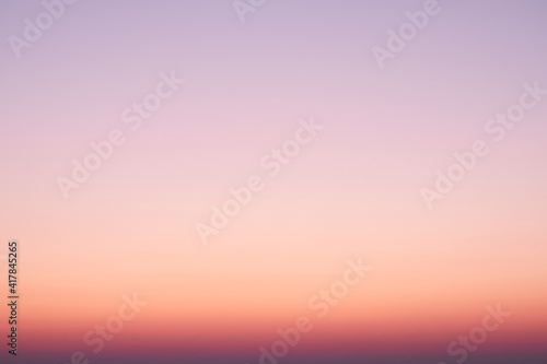 blurred sunset night sky background for summer season concept.