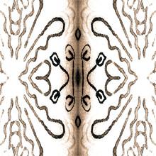 Simple Seamless. White Scandinavian Prints.