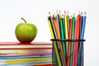 Back to school concept, school supplies