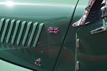 English Car In A Park