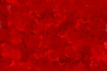 Abstract Background Of Spots Of Red In Different Shades For Creativity And Printing