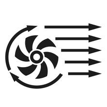 Air Con Vector Icon