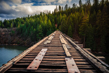 Stand By Me Bridge, Lake Britton, California