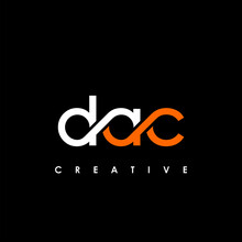 DAC Letter Initial Logo Design Template Vector Illustration