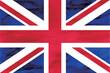 イギリス  国旗 水彩 和紙