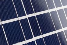 Close Up Of Solar Panels - Macro.