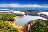 wiosna na Mazurach w północno-wschodniej Polsce