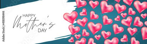 Valokuva Happy Mothers Day banner, website or newsletter header