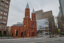 Sacred Heart Basilica In Downtown Atlanta, Georgia, USA.
