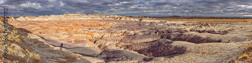 Red Basin in Petrified Forest National Park AZ