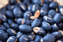 北海道産黒豆の煎り黒豆の背景