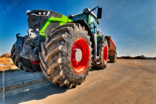 Slika na platnu Traktor
