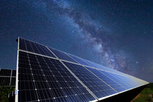 Solar Photovoltaic Panels And The Milky Way