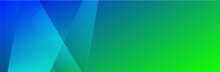 Abstract Blue And Green Background