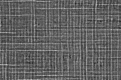 Obraz Grunge texture linen fabric. Vector illustration. Natural background for design. monochrome background of rough canvas - fototapety do salonu