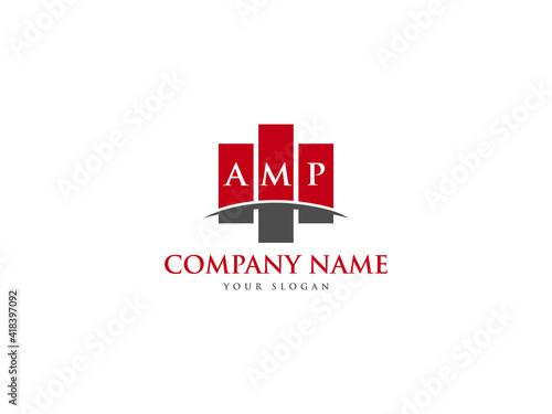 Fotografija AMP Logo Letter Design For Business