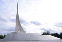 MOSCOW, RUSSIA - September 13, 2020: Museum Of Cosmonautics Near VDNH