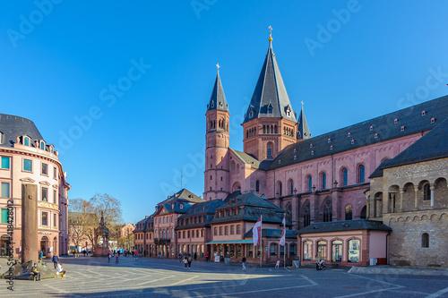 Canvas Print Mainzer Dom