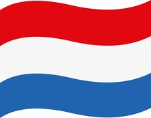 Vector Emoticon Illustration Of The Netherlands Flag