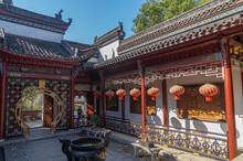 Scenery Of Qingchuan Pavilion Park In Hanyang, Wuhan, Hubei, China