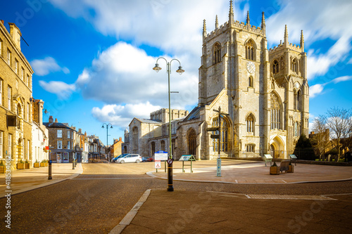 Fotografie, Tablou A view of King's Lynn, a seaport and market town in Norfolk, England